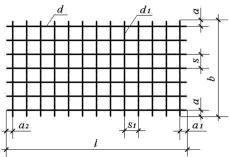 Схематичное изображение дорожной сетки для заказа